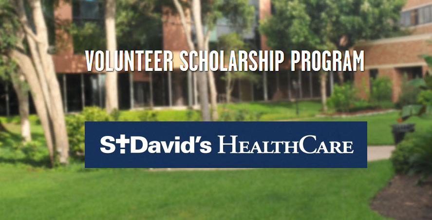 scholarship to volunteers by st david