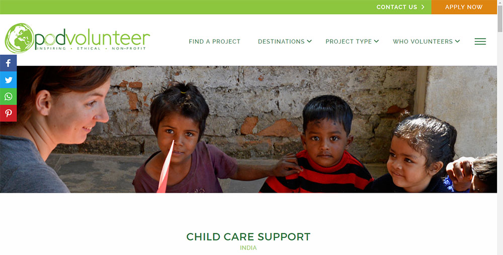 child care project india