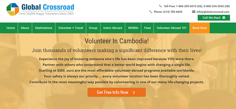 global crossroad volunteer company
