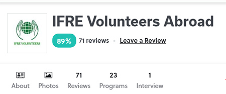 ifre volunteer review