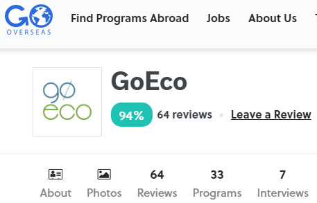 goeco volunteer feedback