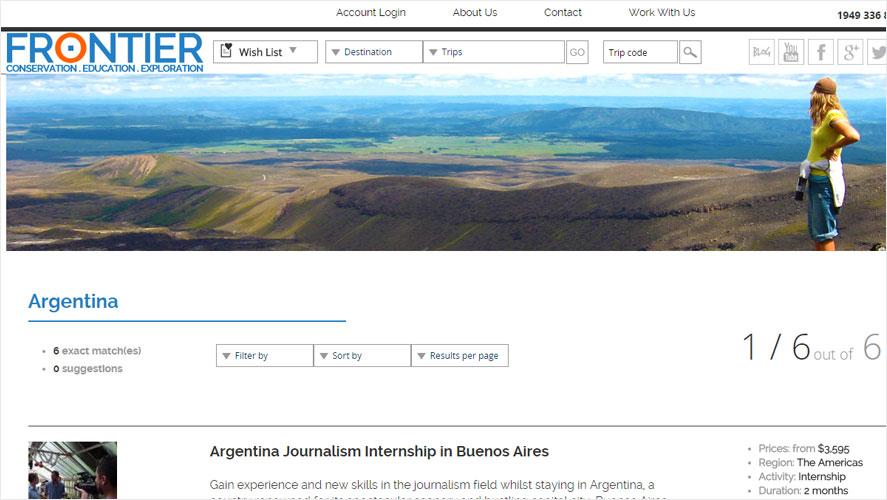 Frontier Cheap Best Argentina Volunteer Projects