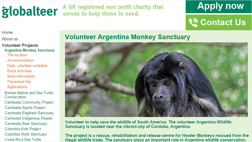 Gloablteer Argentina Volunteering Opportunities