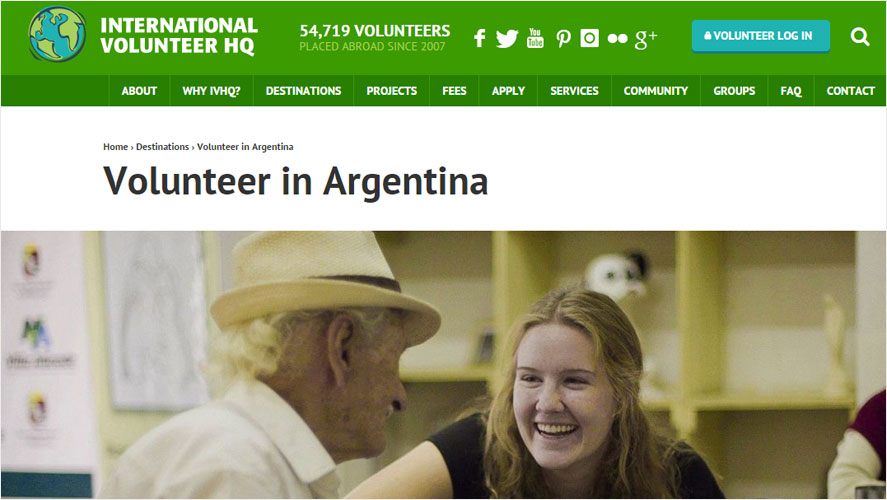 Best Argentina Volunteer Program by IVHQ