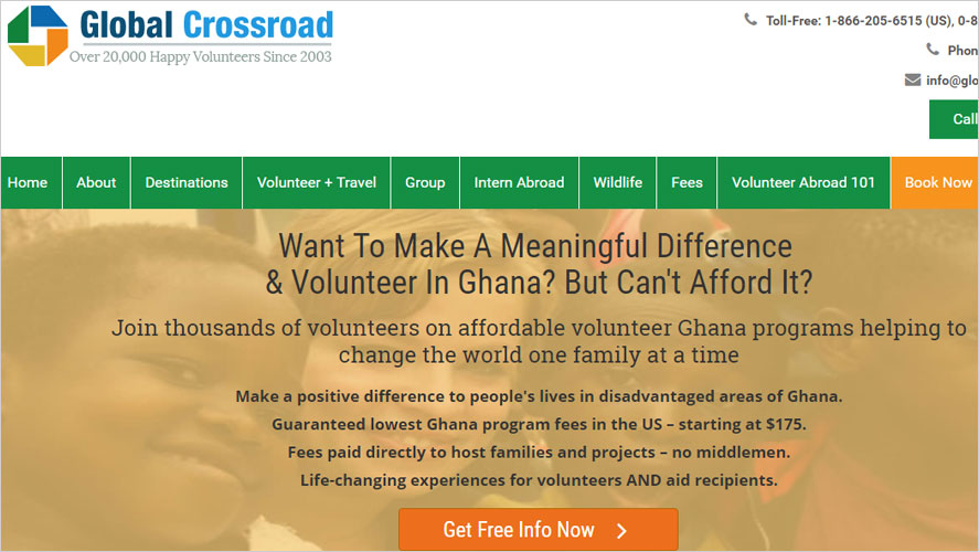 Best 15 Budget and Highly Rated Volunteer Organizations and Programs in Ghana Global Crossroad