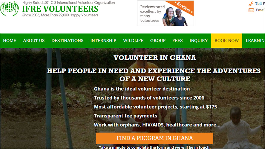 Best 15 Budget and Highly Rated Volunteer Organizations and Programs in Ghana