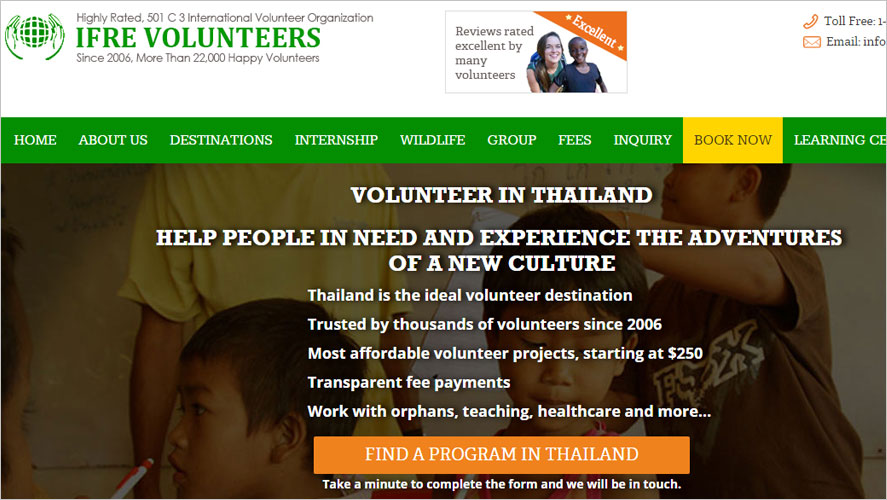 15 Best and Highly Rated Thailand Volunteer Abroad IFRE
