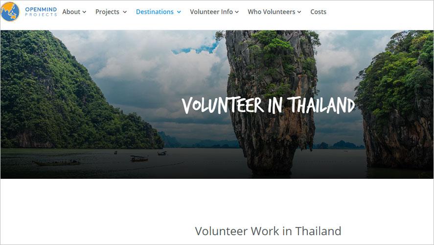 Best Thailand Volunteer Organizations Openmind