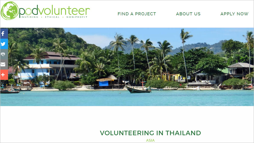 15 Best and Highly Rated Thailand Volunteer Organizations Pod Volunteer