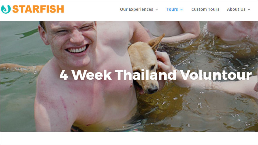 Starfish Highly Rated Thailand Volunteer Organizations GoEco
