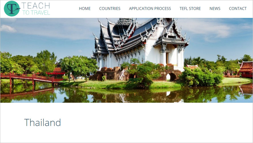 Teach to travel Best and Highly Rated Thailand Volunteer Organizations GoEco