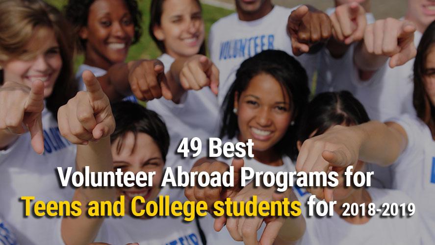 49 Best Volunteer Abroad Programs for Teens
