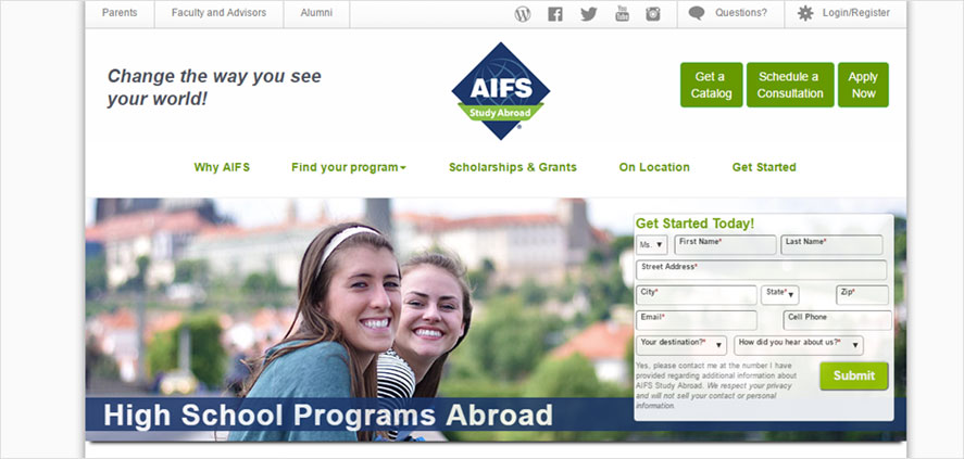 51 best highschool volunteering- American  Institute for Foreign Study