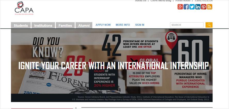 51 best highschool volunteering- CAPA Study  Abroad