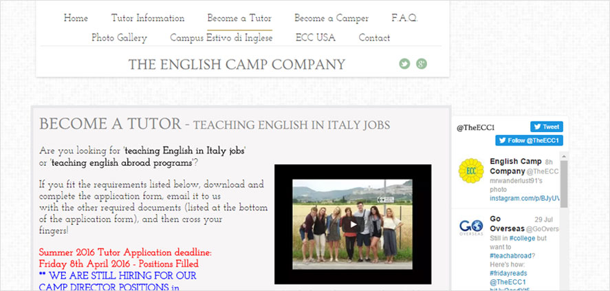 51 best highschool volunteering- The English Camp Company