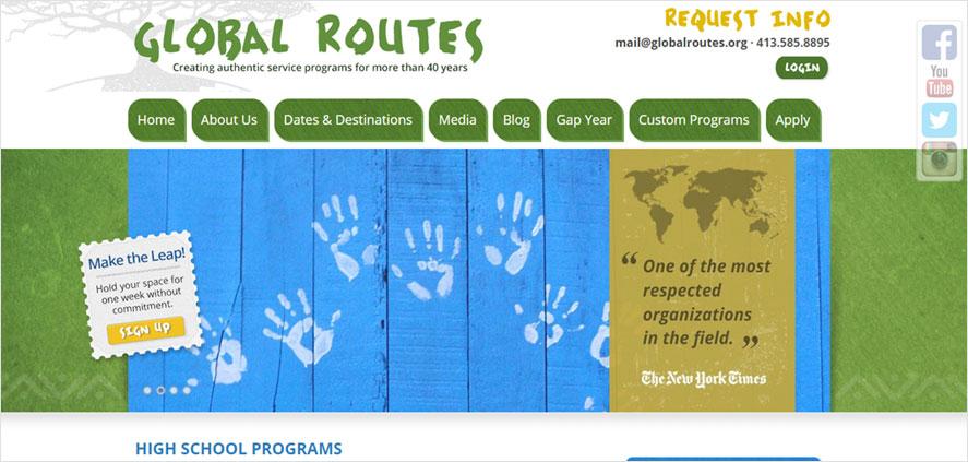 51 best highschool volunteering- Global Routes