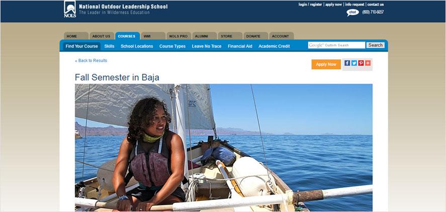 51 best highschool volunteering- National Outdoor Leadership