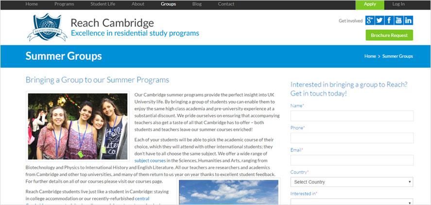 51 best highschool volunteering- Reach Cambridge