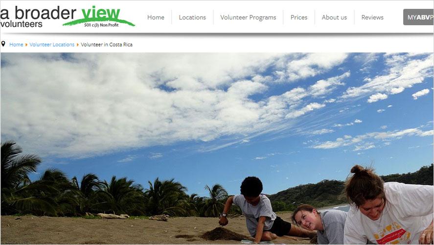 A Broader View Best Costa Rica Volunteer Programs