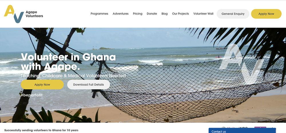 Agape Volunteers Ghana