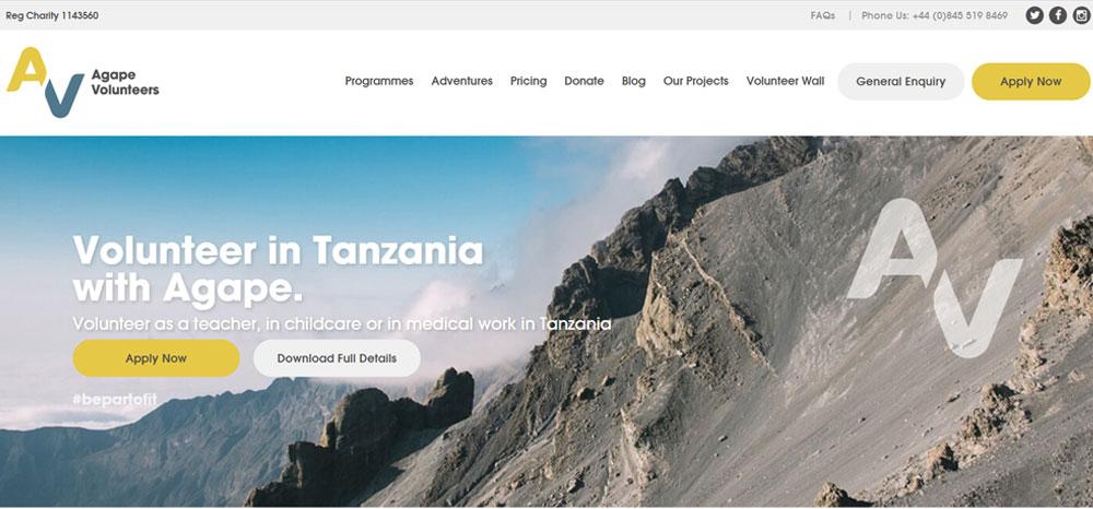 Agape Volunteers Tanzania