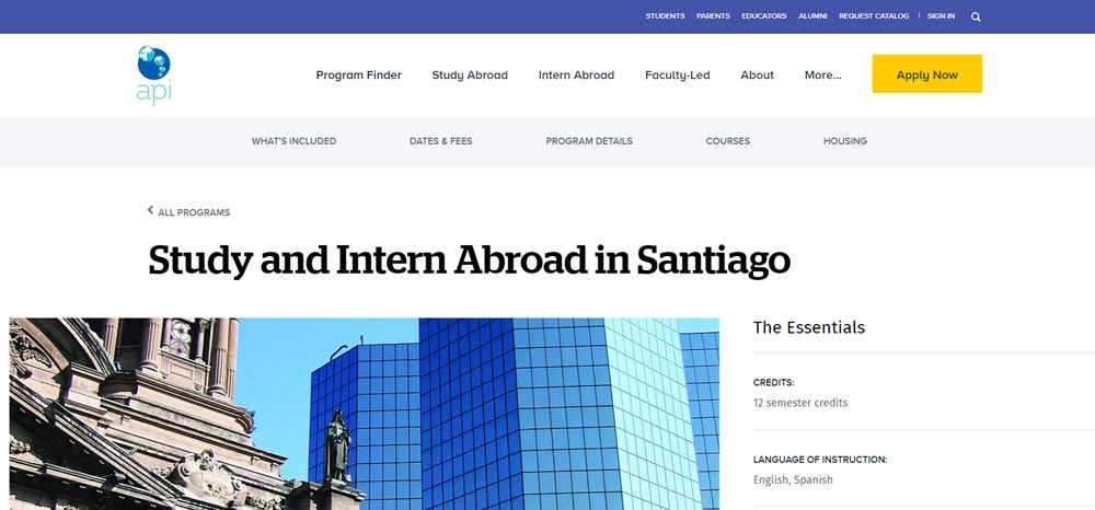 High school volunteer abroad with api study abroad