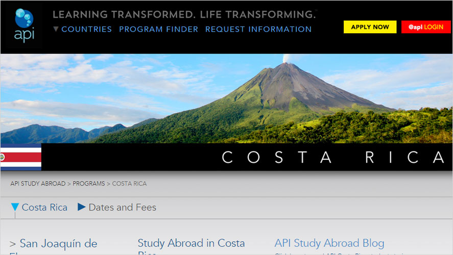 Costa Rica Volunteering by API