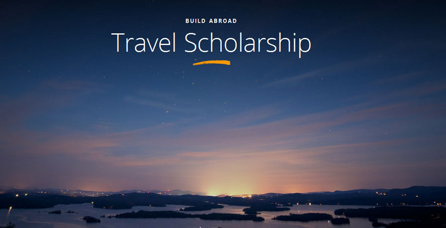 scholarship to volunteers by build abroad