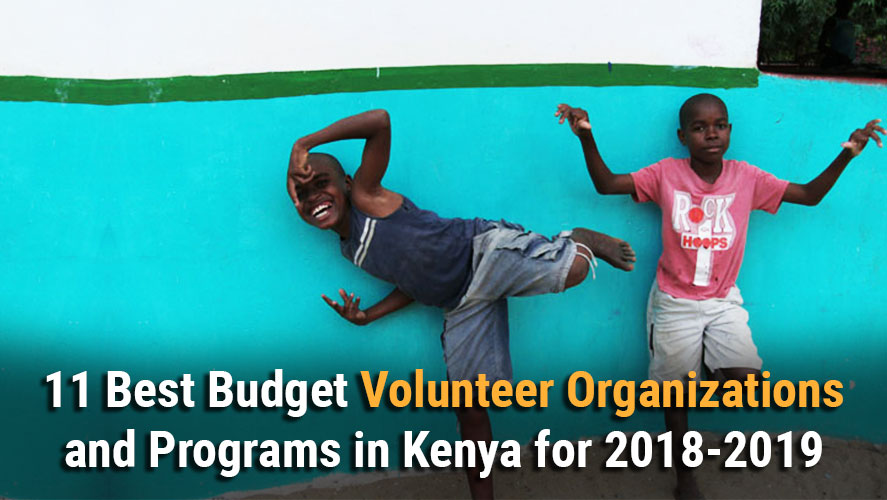Best 11 Budget and Highly Rated Volunteer Organizations and Programs in Kenya