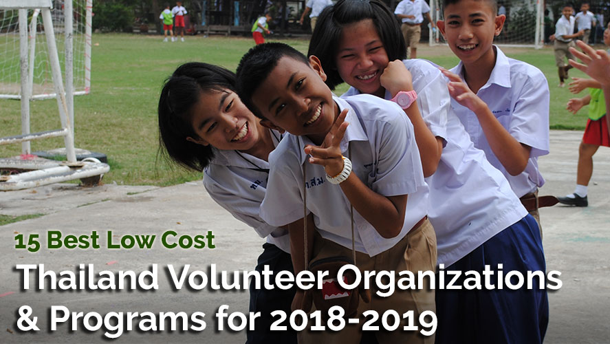 15 Best and Highly Rated Thailand Volunteer Organizations
