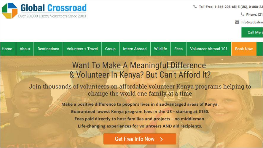 Best and Highly Rated Kenya Volunteer Organizations Global Crossroad