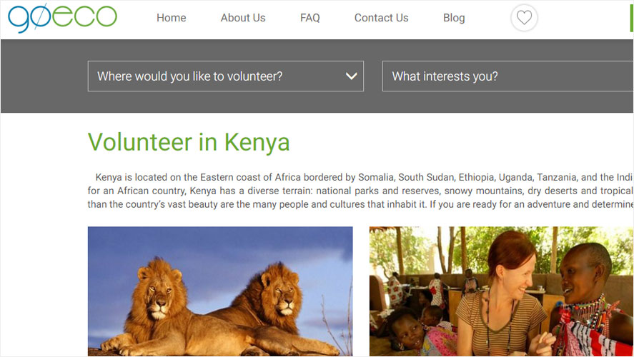 Best Kenya Volunteer Organizations Goeco