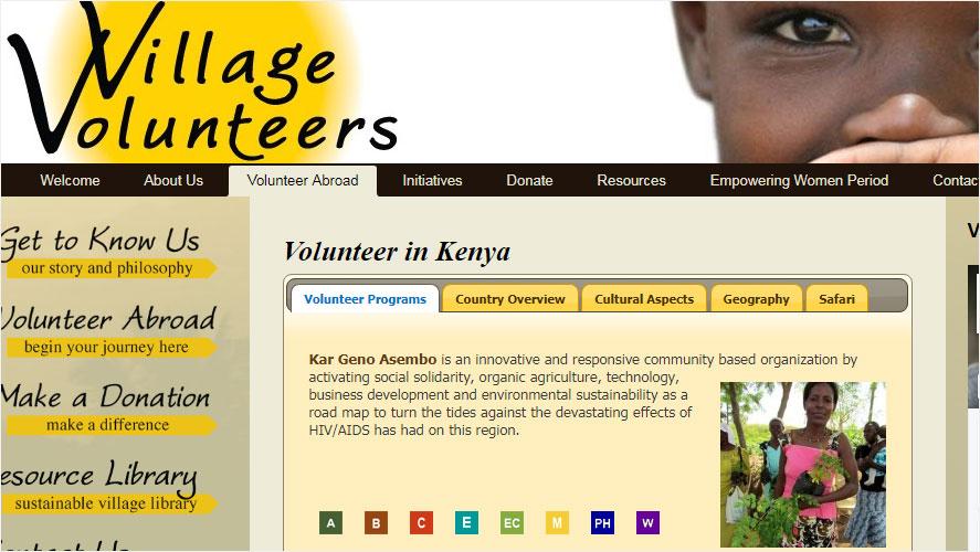 Best and Highly Rated Kenya Organizations Village Volunteers