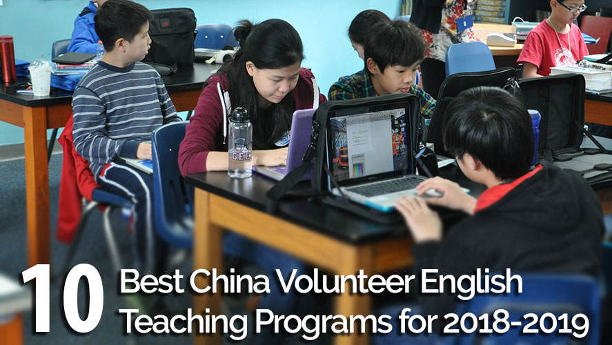 volunteer teaching english in China
