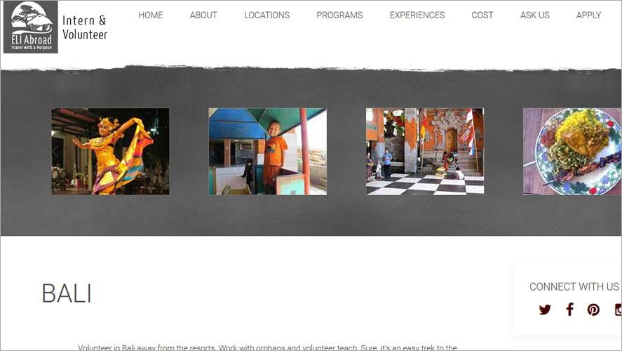 Best Volunteer Opportunities In Bali by Eli Abroad