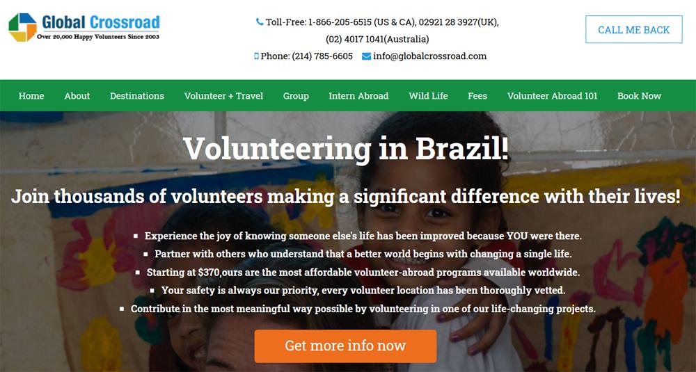 ifre volunteer brazil