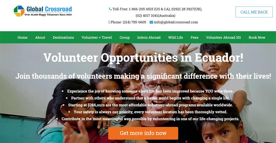 gcr volunteer project ecuador
