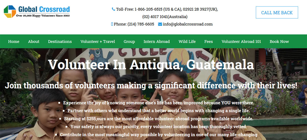 GCR volunteer Guatemala