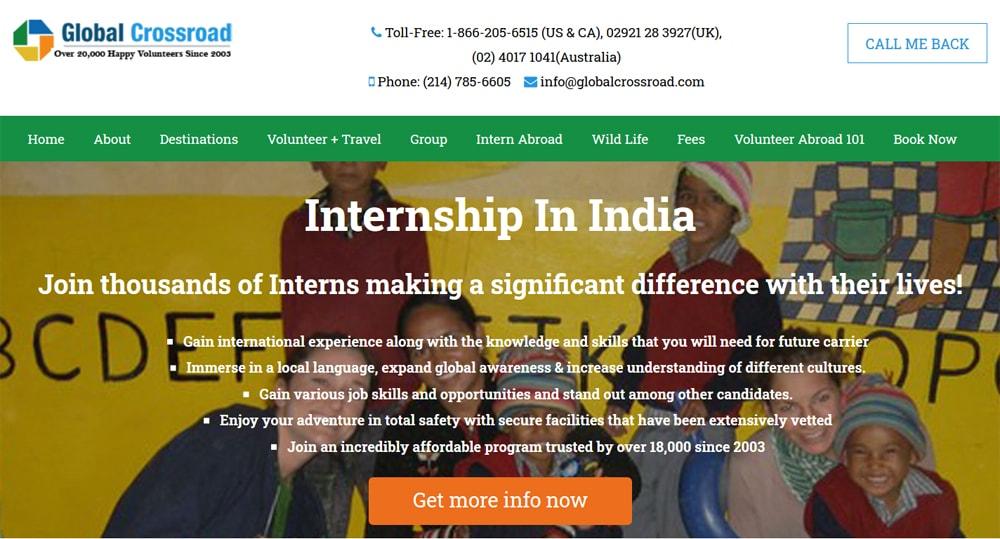 gcr intern abroad