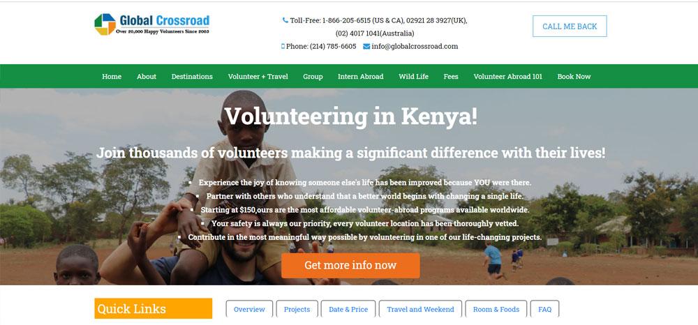 volunteer in Kenya with Global Crossroads