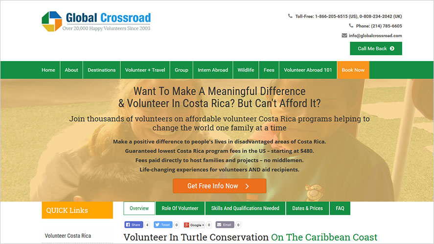 Turtle conservation Global Crossroads