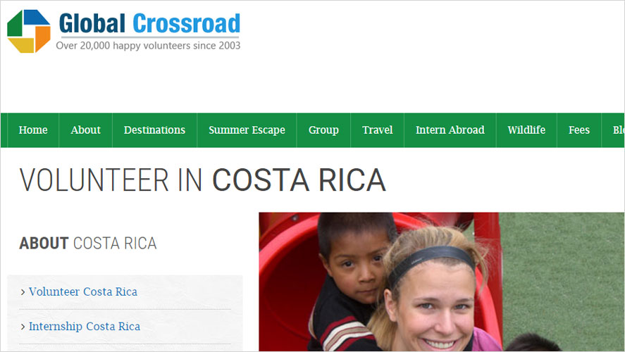 Global Crossroad Budget Volunteer Programs in Costa Rica