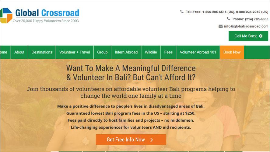 Best Volunteer Opportunities In Bali by GCR