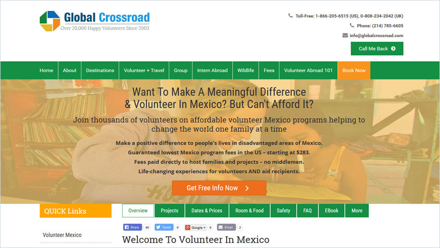 Best Volunteer Opportunities In Mexico by Global Crossroad
