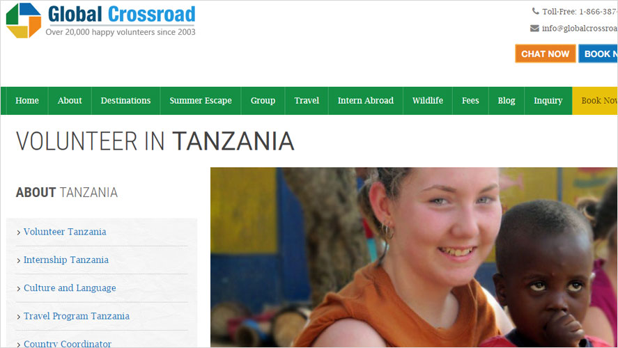 Best Tanzania volunteer abroad program from Global Crossroad