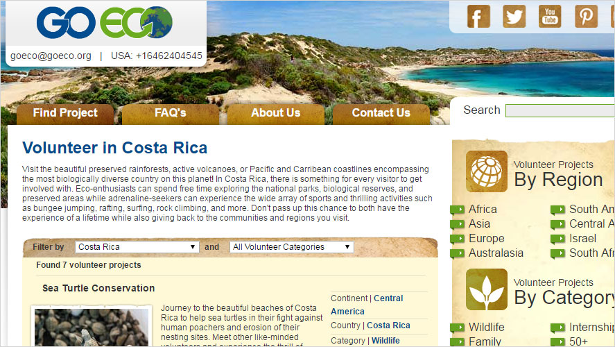 Most Affordable Costa Rica Volunteer Opportunities by GoEco