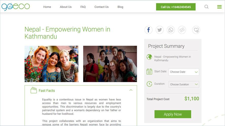 Best Volunteer Opportunities In Nepal by GoEco