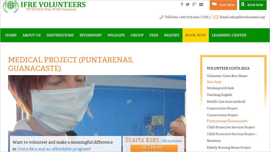 Top Budget IFRE Volunteer Healthcare in Costa Rica Programs