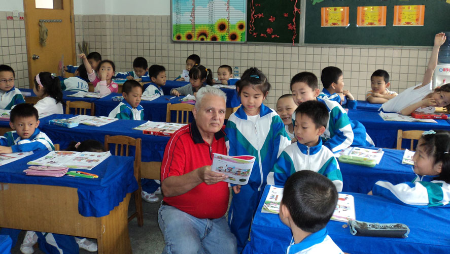 English teaching project by IFRE in China
