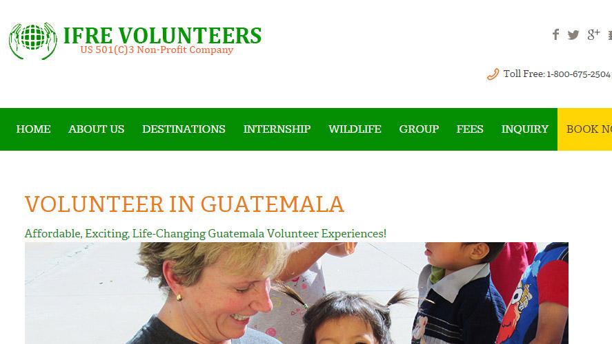 Best Guatemala Volunteer Program by IFRE